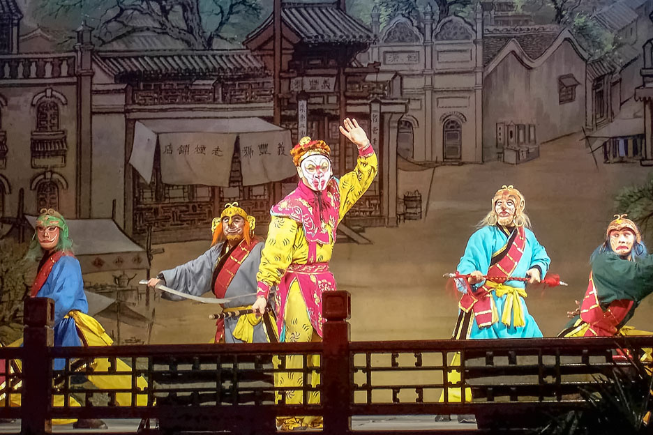 The Monkey King in Chinese opera.